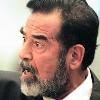 Saddam Hussein.