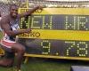 Klicka för att läsa 'Världsrekord på 100 meter'