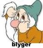 Blyger.